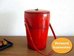 """Behälter """"Bucket"""", rot"""